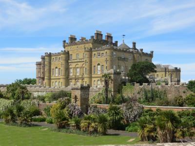 Tom Graham Culzean castle garden facade