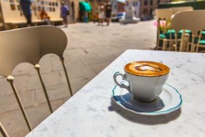 coffee ranks highly among Italy's top 10 foods