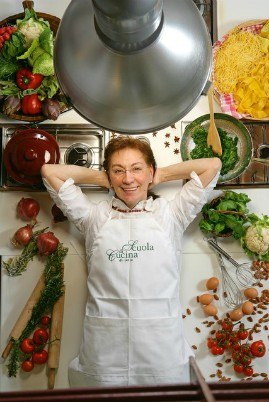 photo of owner of the Siena cooking class