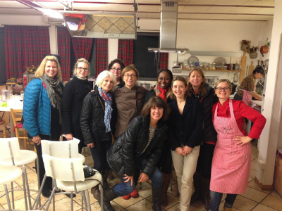 italian cooking class friends