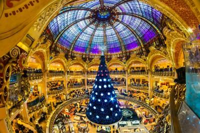 Christmas in Paris Galeries Lafayette