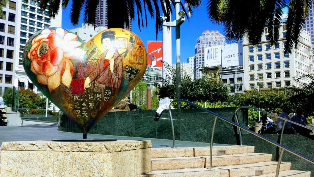 Hearts of San Francisco Union Square