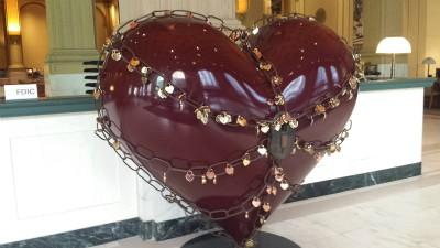 Hearts of San Francisco locks